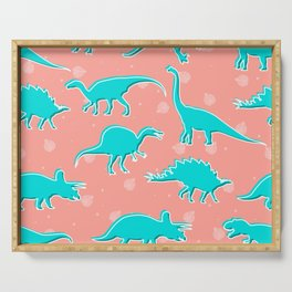 Dino Alley Serving Tray