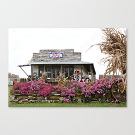 Ole Country Store Canvas Print