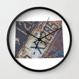 Vintage Wyoming Wall Clock