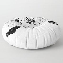 Ghibli bugs II Floor Pillow