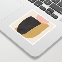 Abstract Shapes 34 Sticker