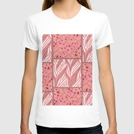 RoseGold: Animal Print Quilt T-shirt