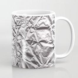 Silver Paper Coffee Mug