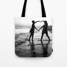 Love BW Tote Bag