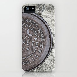 New Orleans Watermeter in Color iPhone Case
