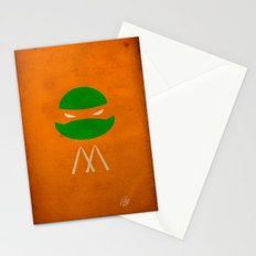 TMNT Mikey poster Stationery Cards