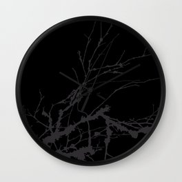 Just a branch Wall Clock