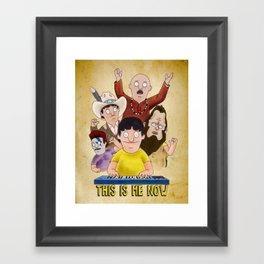 This is Me Now - Bob's Burgers - Gene Quote Framed Art Print
