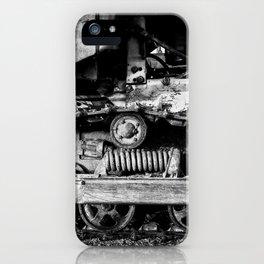 Vintage Caterpillar Tracks iPhone Case