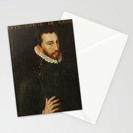 Adriaen Thomasz Key - Louis, Count of Nassau (1574) Stationery Cards