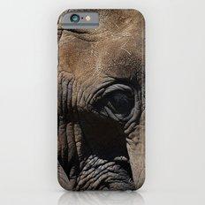 Elephant Portrait - Side Slim Case iPhone 6s