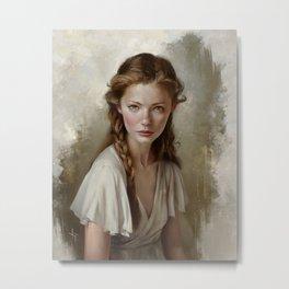 Portrait of Helena Metal Print