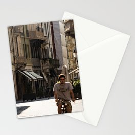 Cyclist Stationery Cards