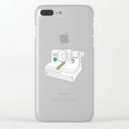 Vintage Camera - Land Camera 1000 (One Step) Clear iPhone Case