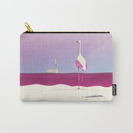 Flamingo Fatale Carry-All Pouch