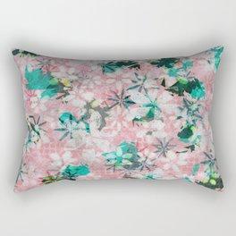 Autumn Petals on Candy Floss Rectangular Pillow