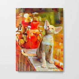 Marmalade Kittens Metal Print