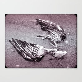 broken hearted as a heart can be Canvas Print