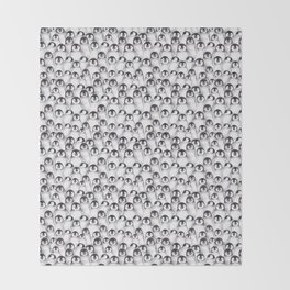 Penguin pattern Throw Blanket