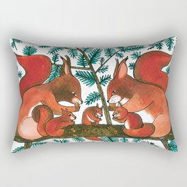 Noah's Ark - Squirrel Rectangular Pillow