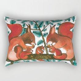Noah's Ark - Squirrel Rectangular Pillow