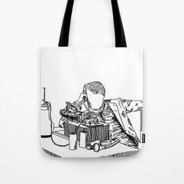 The Wizard of Menlo Park Tote Bag