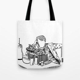 The Wizard of Menlo Park Tote Bag