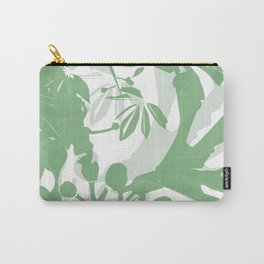 BC green silhouette Carry-All Pouch