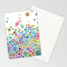 Inner Circle - white Stationery Cards