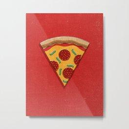 FAST FOOD / Pizza Metal Print