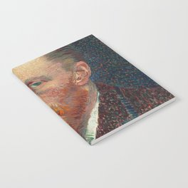 Vincent Van Gogh Self Portrait 1887 Notebook