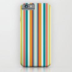 llama stripe iPhone 6s Slim Case