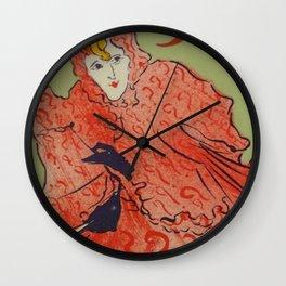 """Henri de Toulouse-Lautrec """"Place Pigalle"""" Wall Clock"""