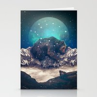 jazzberry Stationery Cards featuring Under the Stars (Ursa Major) by soaring anchor designs