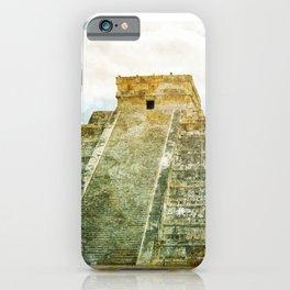 Chichen Itza pyramid iPhone Case