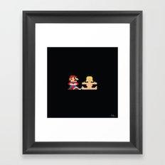 Loneliness Level 10 Framed Art Print