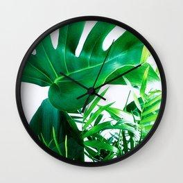 Tropical Display Wall Clock