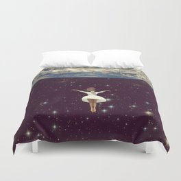 Let It All Go Duvet Cover