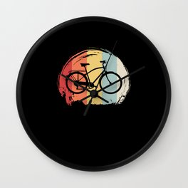 Bicycle Retro Wall Clock