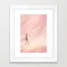 Do it for Her Framed Art Print