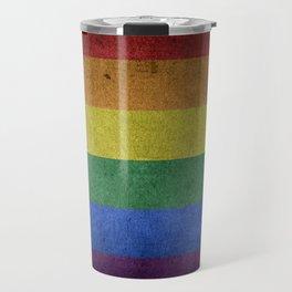 LGBT Pride Flag Travel Mug
