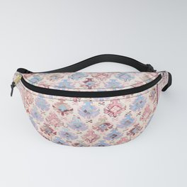 North Indian Dhurrie Kilim Print Fanny Pack