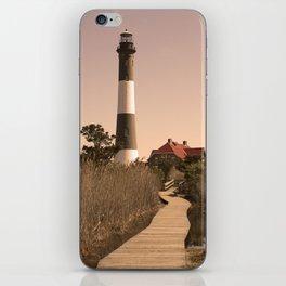 Fire Island Lighthouse iPhone Skin