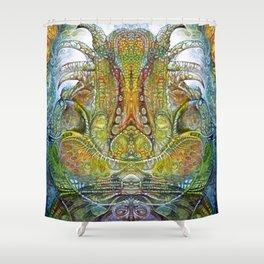 FOMORII THRONE Shower Curtain