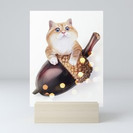 Squirrel? Mini Art Print