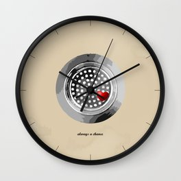 always a chance Wall Clock