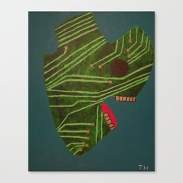 Raging Circuits Canvas Print