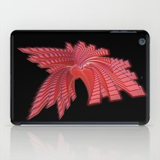 Red Glass Abstract iPad Case
