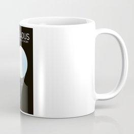 Enceladus Saturn moon Space Art. Coffee Mug