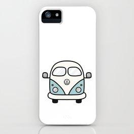 Cute Retro Bus iPhone Case